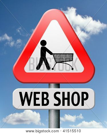 online shop internet shopping store to order online on the web shop internet shop