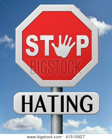 stop hating start love tolerance and forgiveness forgive enemies no discrimination or racism