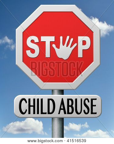 stop child abuse prevention from domestic violence and neglection end abusing children
