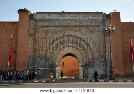 BAB Agnaou-Tor in Marrakesch