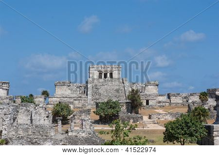 Tulum - Historic Mayan Ruins In Mexico