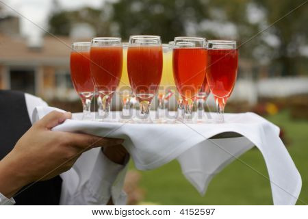 Tray Of Drinks