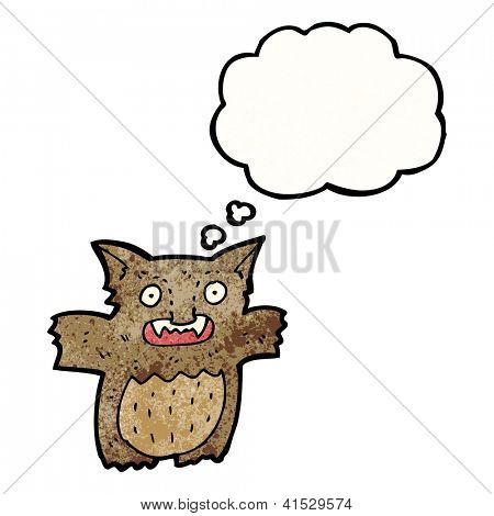 Cartoon kleinen gremlin