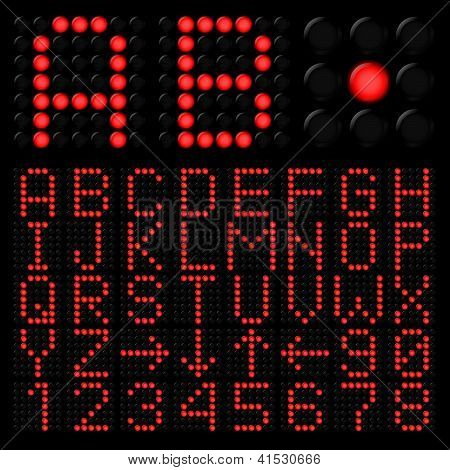 Digital alphabetic