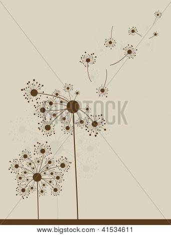 Ã?Â??bstract dandelion background