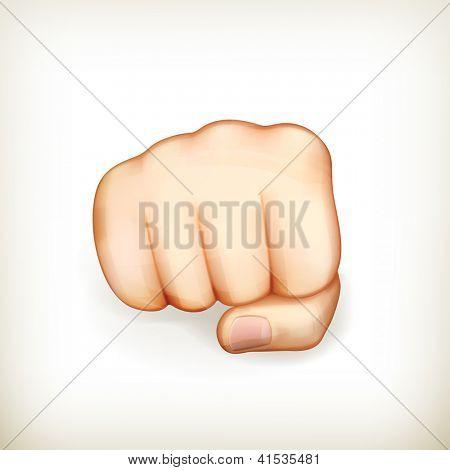 Fist, bitmap copy