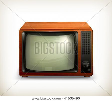 TV set retro, bitmap copy