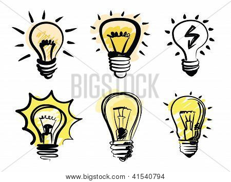 light bulbs icon