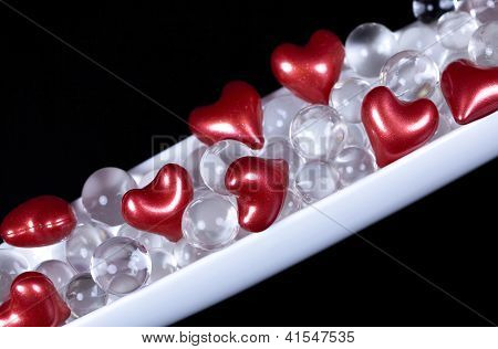 Valentine hearts decoration
