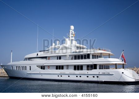 Luxury Motor Yacht.