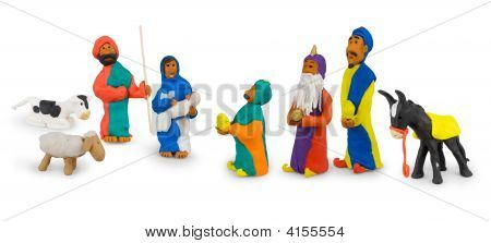 Holy Family And Three Kings