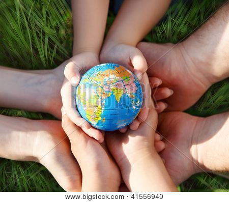 Earth In Hands Of The Family