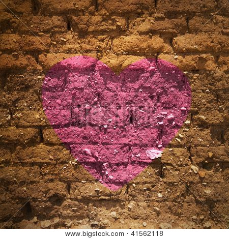 Heart On The Wall