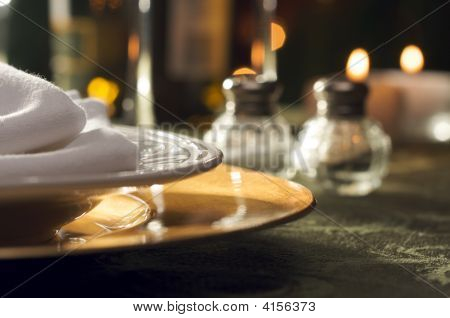 Elegant Dinner Setting