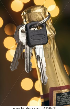 Don'T Drink And Drive - Keys With Champagne