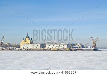 Nizhny Novgorod. Oka River