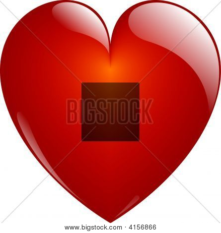 Stop. Glassy Heart