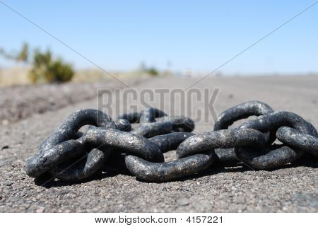Chain In The Road