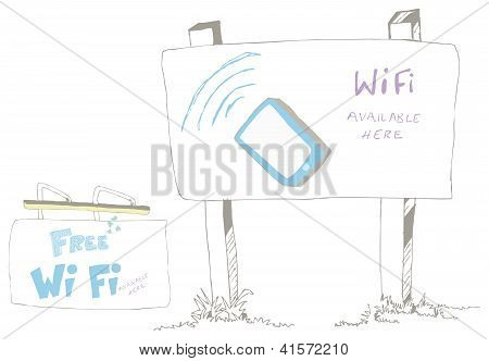 Wi Fi Available Sign