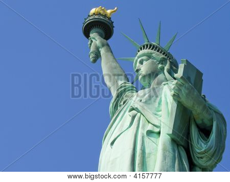New York  Statue Of Liberty Standing Up 01 All