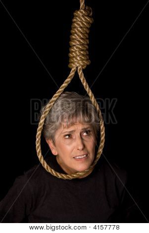 Elderly Woman Suicide