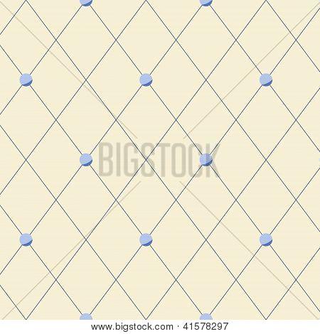 Diamante beige brillante forma inconsútil geometrico, vector
