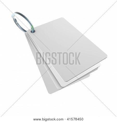 Cartões com porta-anel