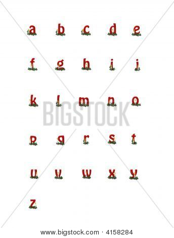 Alpha Birthday Of Jesus Lower Case