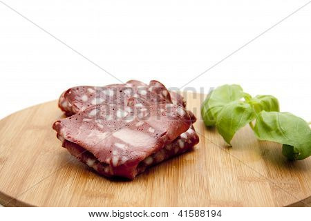 Cold Cuts from Blood Sausage