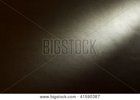 Black Background Illuminated From The Right Corner Spotlight