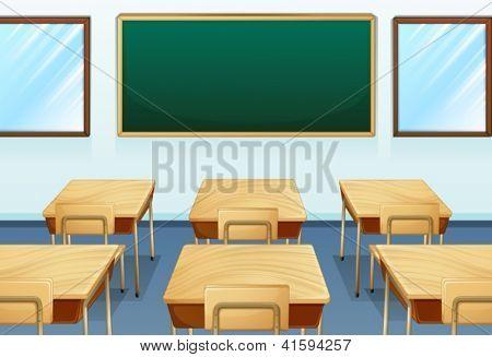 Abbildung von einem leeren Raum