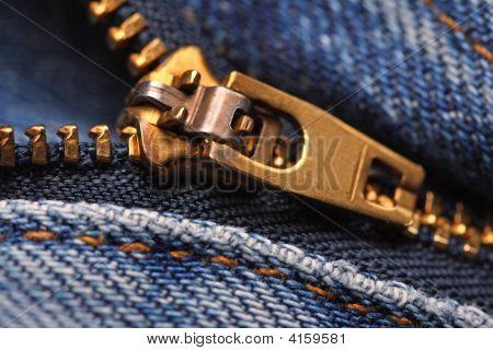 Image Of Classic Jeans Zip