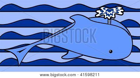 Whale Blue
