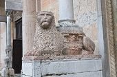 picture of pilaster  - Detail of the Cathedral of Piacenza - JPG