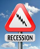 economic recession and bank crisis profit loss global financial crash