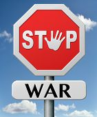 stock photo of stop fighting  - stop war bring peace no more fighting - JPG