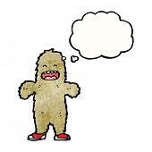 foto of bigfoot  - cartoon bigfoot - JPG