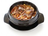 yukgaejang, spicy beef and vegetable soup, korean food