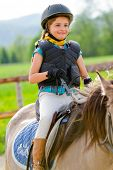 foto of horse-breeding  - Horseback riding - JPG