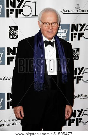 NEW YORK-SEP 27: Actor Charles Grodin is seen filming