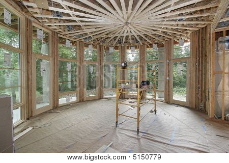 Luxury Home Under Construction