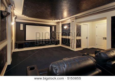 Luxury Theater Room