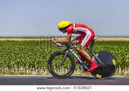 The Cyclist Rudy Molard