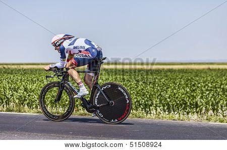 The Cyclist Adam Hansen