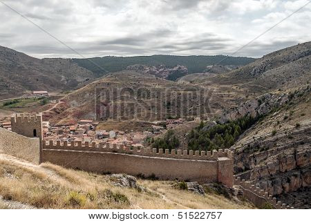 Castle Of Albarracin