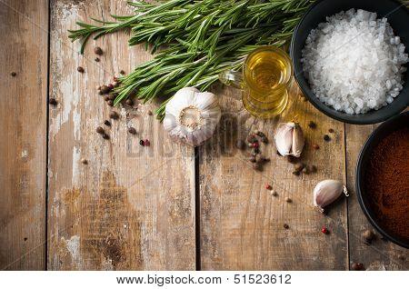 Rustic Kitchen Background