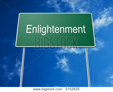 Road Sign Enlightenment