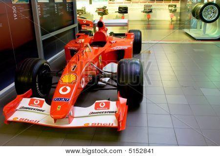 Maranello, Italy - 09 July, 2008: Ferrari Sport Car Formula 1 In Museum Ferrari, Maranello, Italy, 0