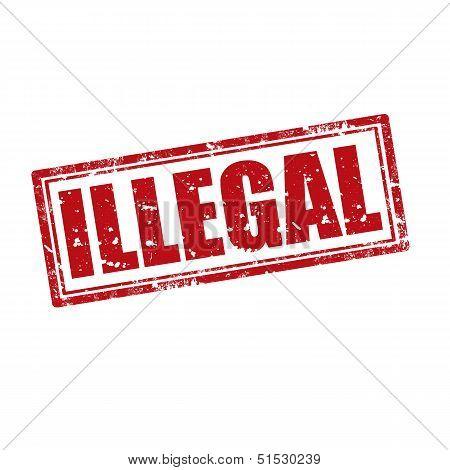 Illegal-stamp
