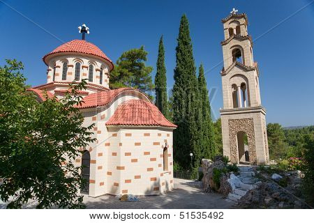 The Greek Orthodox Church. Rhodes. Greece
